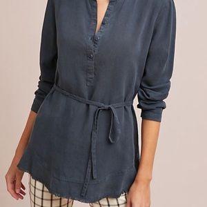NWT Anthropologie Cloth & Stone Tunic Size xs